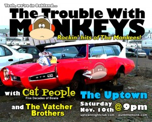 The Vatcher Brothers with The Trouble With Monkeys